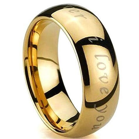 Engraved Rings Gold images