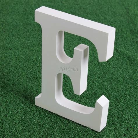 26 Large Thick Wooden Letters Wall Hanging Wedding Party