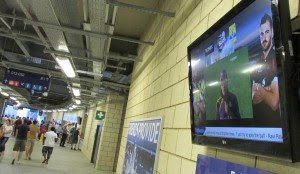 One of Tripleplay Services' many major sports projects, at Edgbaston Cricket Ground in Birmingham