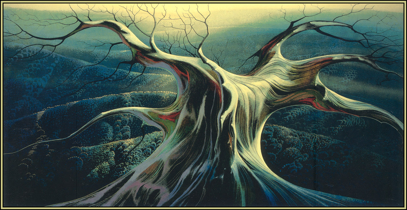 Eyvind Earle - Empty Kingdom - Art Blog