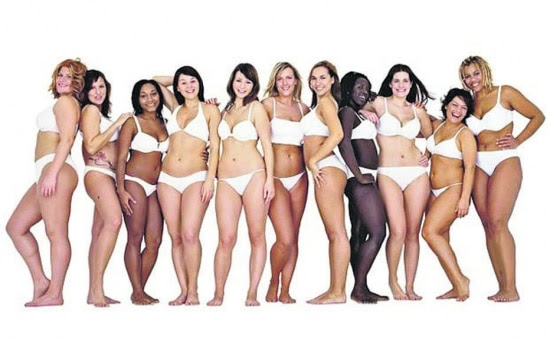 Além dos padrões.A marca Dove, da Unilever, tem a tradição de reunir mulheres de diferentes padrões de beleza e raças em suas peças publicitárias.