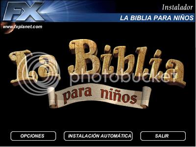 la biblia para niños interactiva