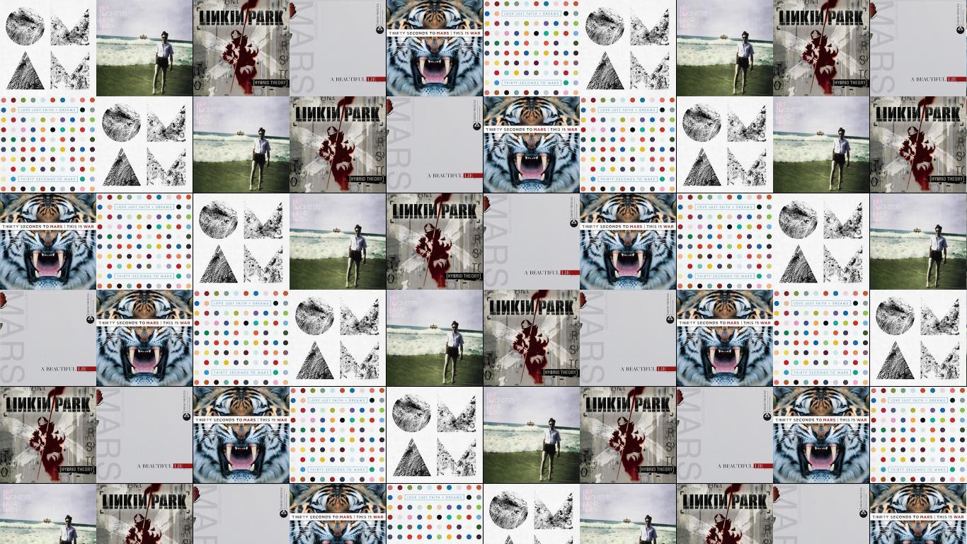 Of Monsters And Men Tiled Desktop Wallpaper