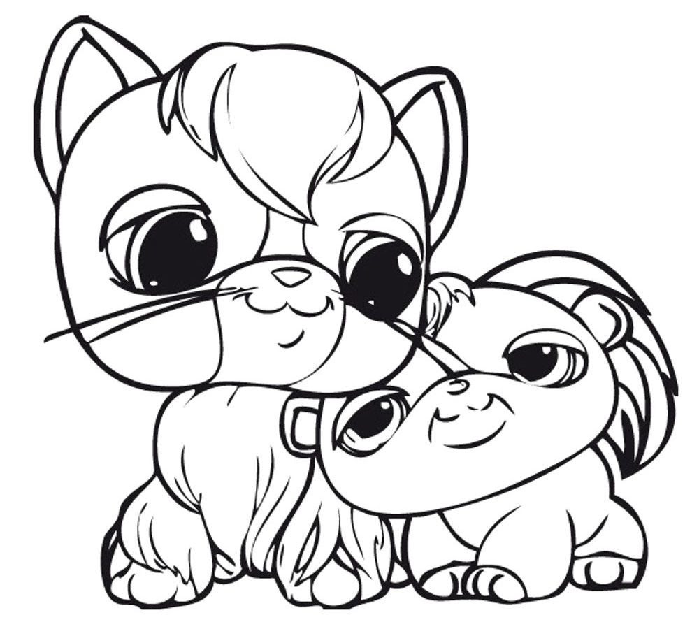 Littlest Pet Shop Coloring Pages Bunny at GetDrawings ...