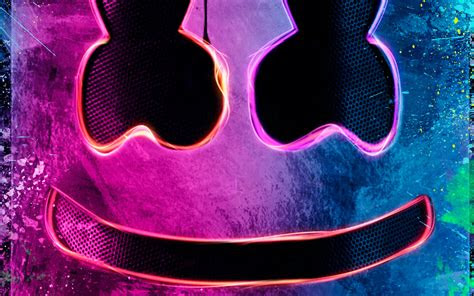 wallpaper  dj marshmello  background hd image