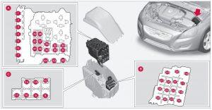 Volvo S60 Mk2 Second Generation 2012 Fuse Box Diagram Auto Genius