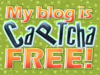 My blog is CAPTCHA free