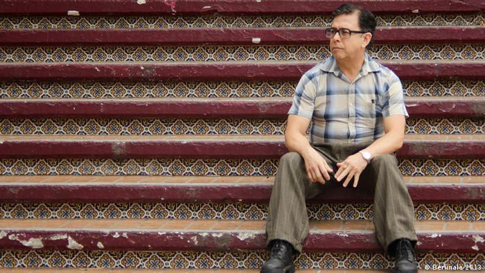 Jesus Padilla, en el papel de emigrante salvadoreño en Tijuana.