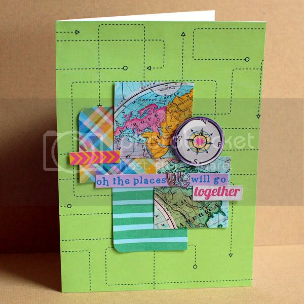 Oh the Places We Will Go card