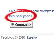 denunciar facebook 1 Cómo denunciar páginas en Facebook