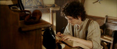 rotk Frodo is writing