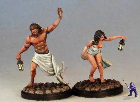 Kingdom Death Survivors Zachery and Erza