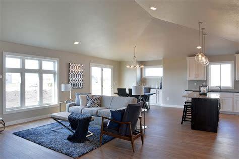 tips  decorating  house   open floor plan