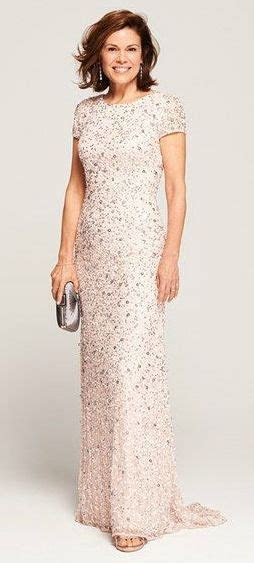 Pretty blush sequin Mother of the Bride Dress   Mother of