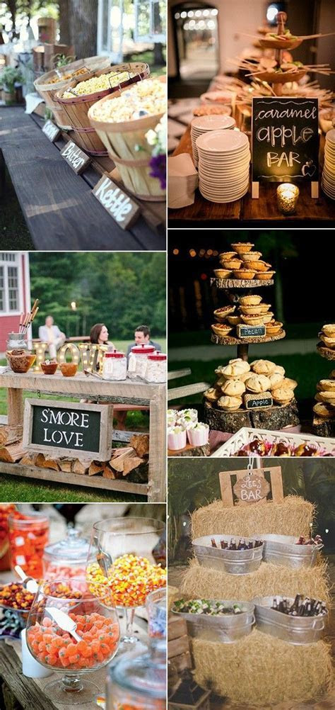 25  best ideas about Wedding food bars on Pinterest