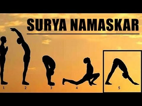 how to do surya namaskar stepstep at home for