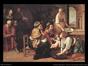 Artemisia Gentileschi, Nascita di San Giovanni Battista, 1635