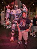 me & Reel Steel robot