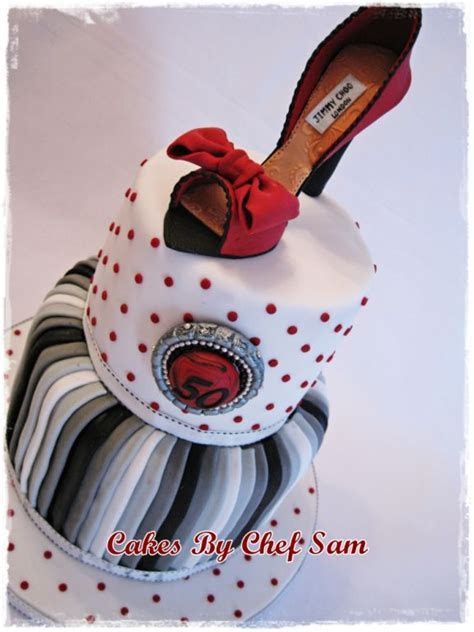 Chef Sam's World: Fashion Cakes   Celebrating Women!
