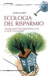 Ecologia del Risparmio - Libro