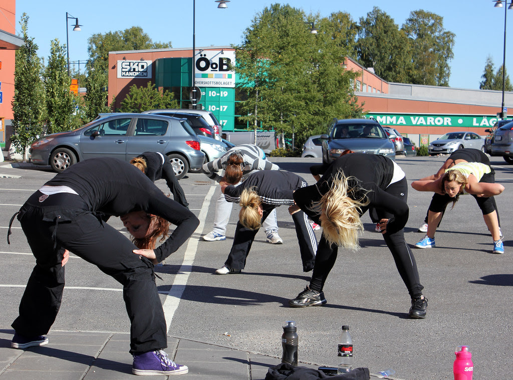 The Parking Lot Workout