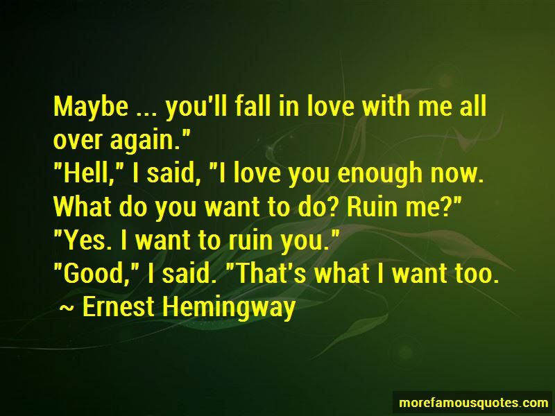 If I Fall In Love Again Quotes Top 49 Quotes About If I Fall In