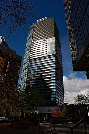 Fairmont Pacific Rim hotel and residences, dow...