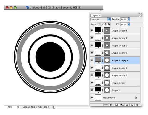 Trendy Circle Brush in Photoshop image 4