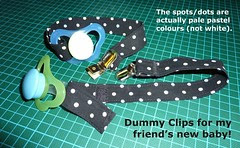 Dummy, Soother, Pacifier Clip,Strap 01