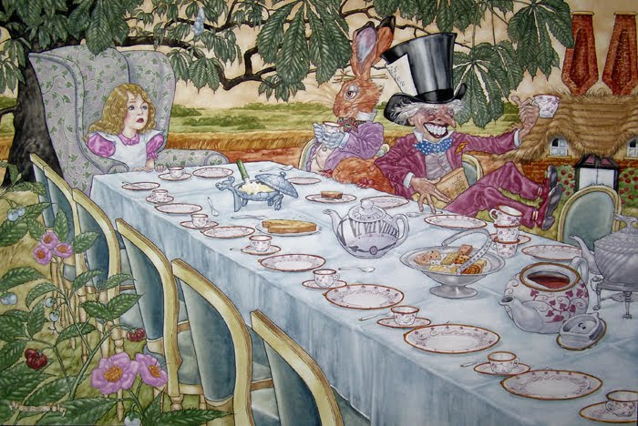 Free Mad Hatters Tea Party Download Free Clip Art Free Clip Art On