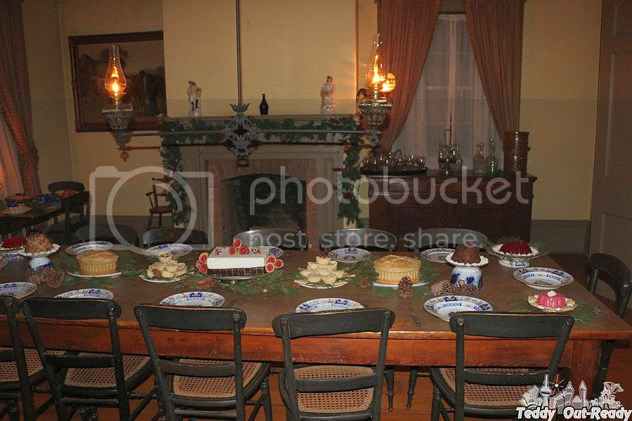 Christmas by Lamplight Black Creek Table