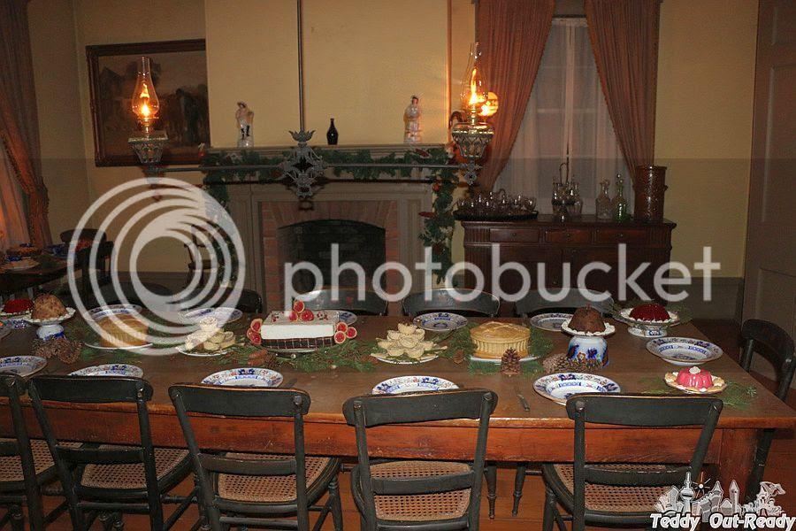 Christmas by Lamplight Black Creek Table