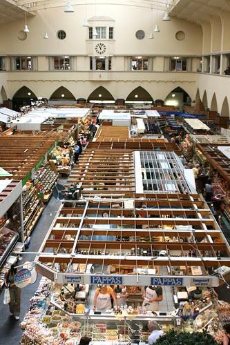 Markthalle interno