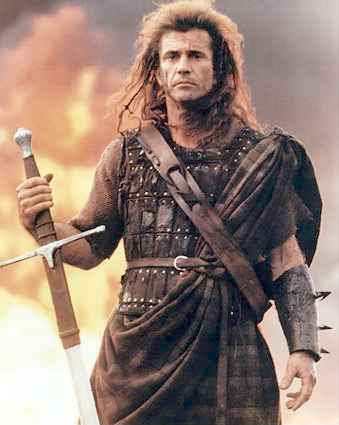 mel gibson young photos. Mel Gibson - Braveheart