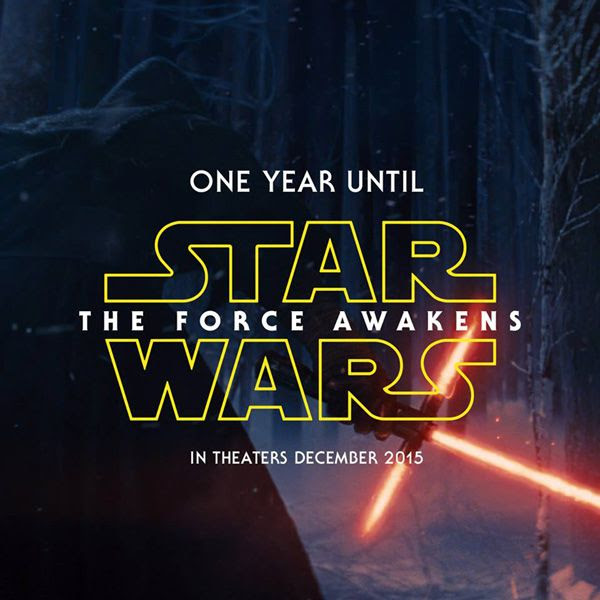 Exactly one year remains till STAR WARS: EPISODE VII - THE FORCE AWAKENS hits theaters here in the United States!
