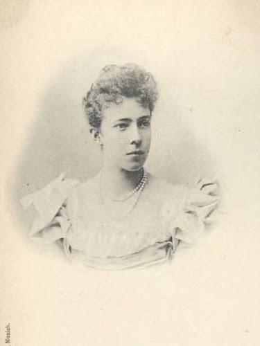 Young Queen Elisabeth of Belgium
