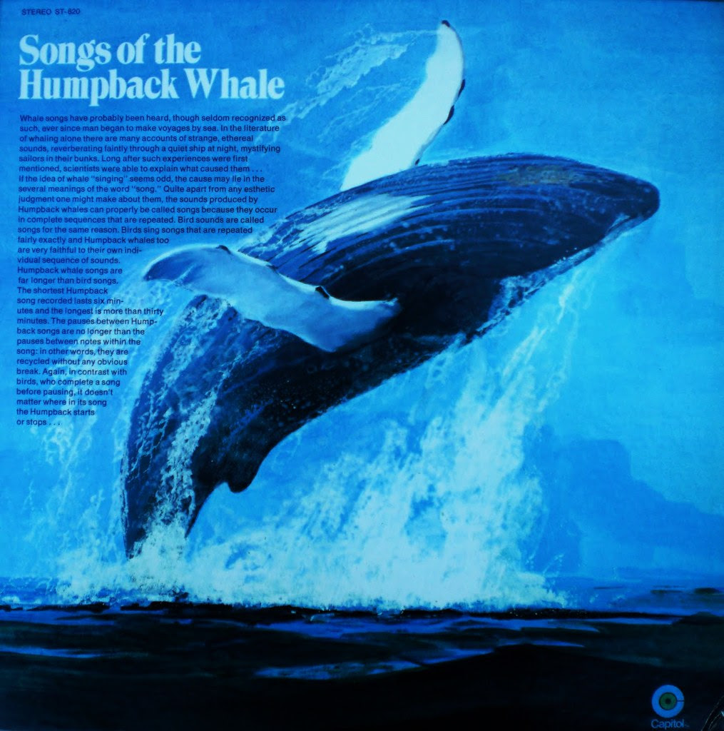 SONGS OF THE HUMPBACK WHALE front cover