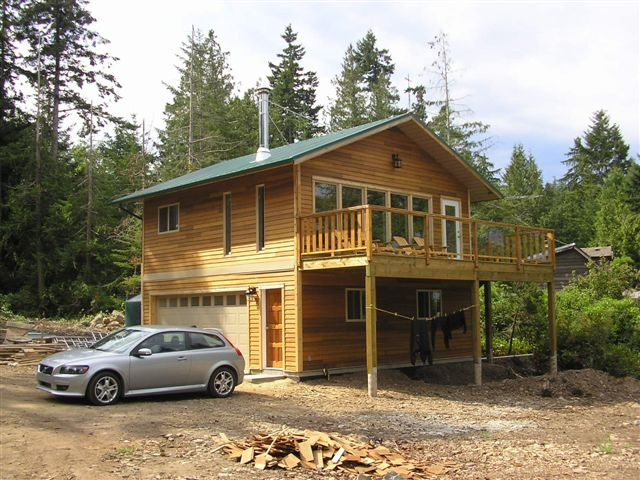 Small House  with Garage  Big  Garage  Homes build a small