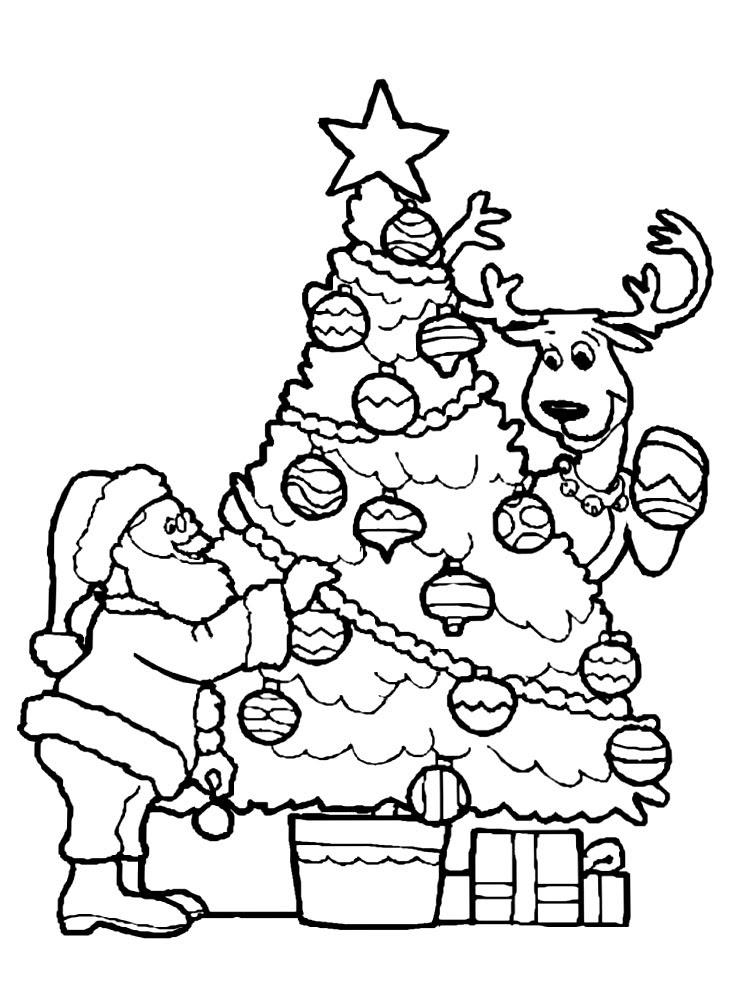 Dibujo Arbol De Navidad Para Imprimir