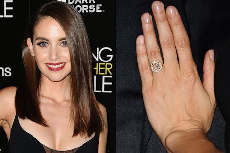 Non Traditional Celebrity Engagement Rings