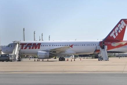 TAM muda horários de 4 voos entre Cuiabá e São Paulo