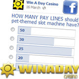 WinADay Players on Facebook Choose Pet Theme for New Slots Game