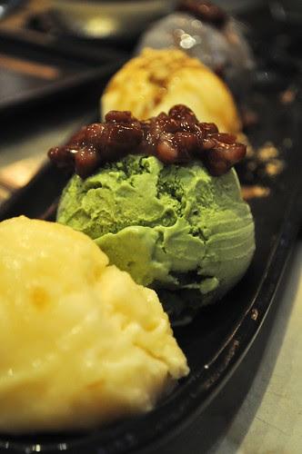 icecream platter