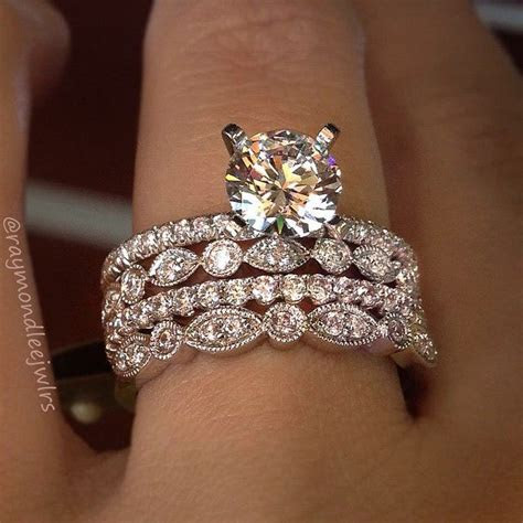 Top 10 Ring Stacks of 2015   Engagement Rings   Engagement