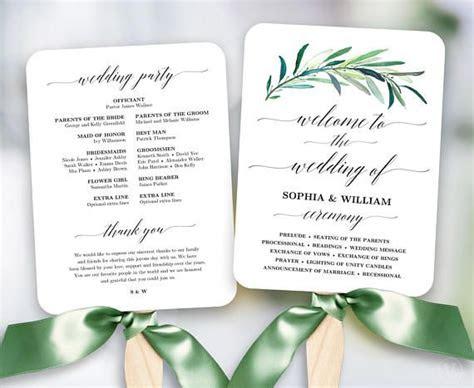 program template ideas  pinterest wedding