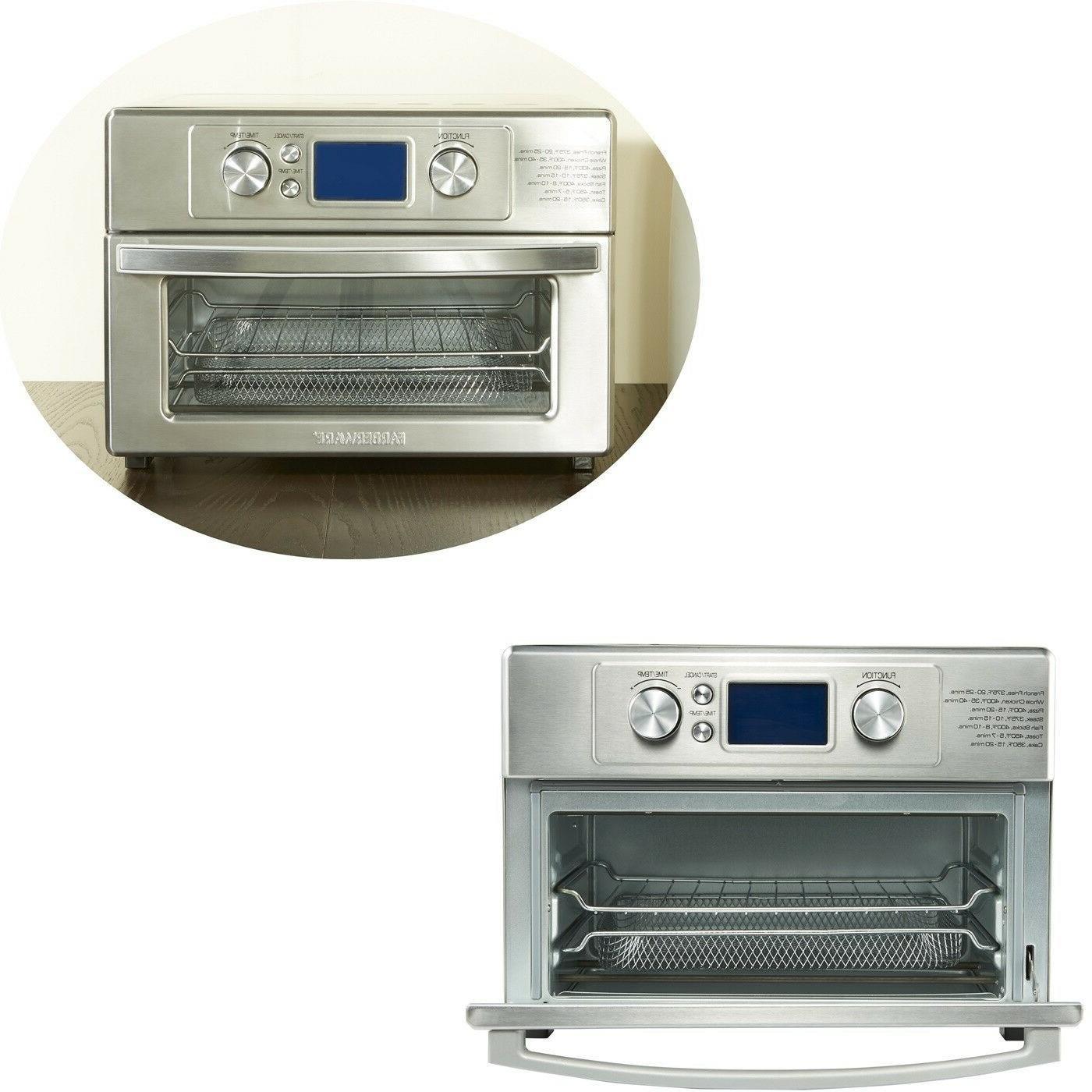 Farberware Air Fryer Toaster Oven Powerful Technology Preprogrammed