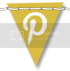 photo Leelou Blogs free social icons pinterest yellow.png