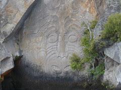 Maori carvings