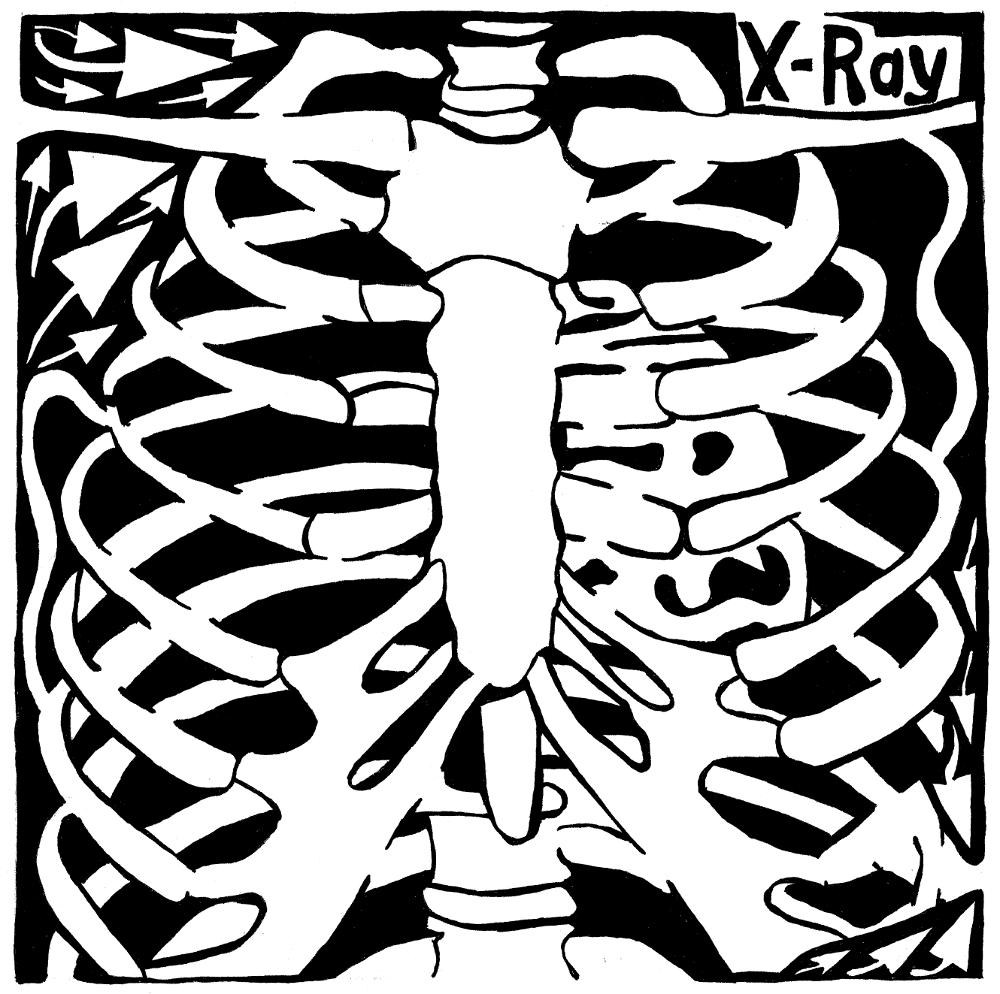 x ray maze art