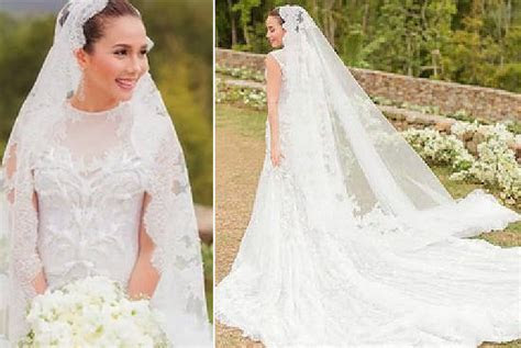 Top 10 Prettiest Celebrity Wedding Gowns